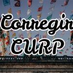 ¿Cómo corregir el CURP paso a paso? Formularios y problemas de homonimia 1
