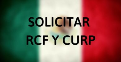 Solicitar RFC y CURP