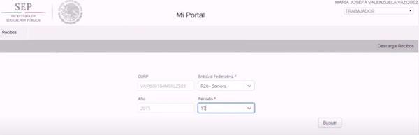 Descarga tus talones de pago en Mi Portal Fone 6